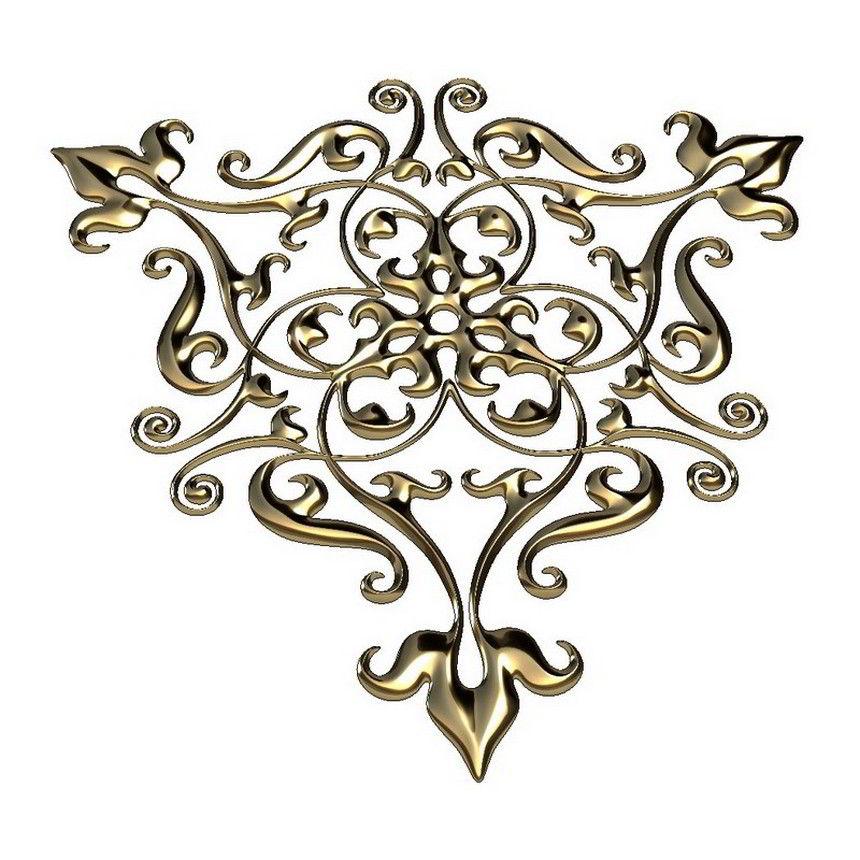 Decorative Ornament 3D Model