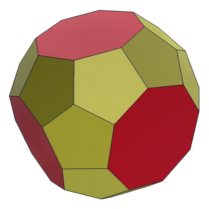 truncated triakis octahedron 3d model