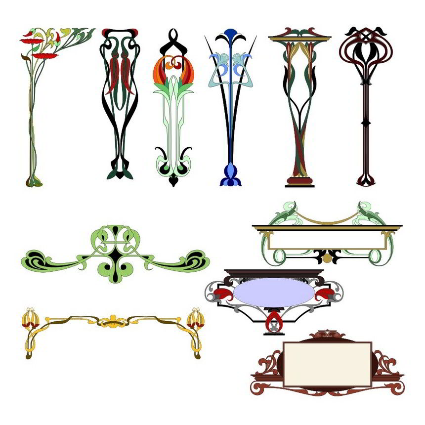 Art ornaments
