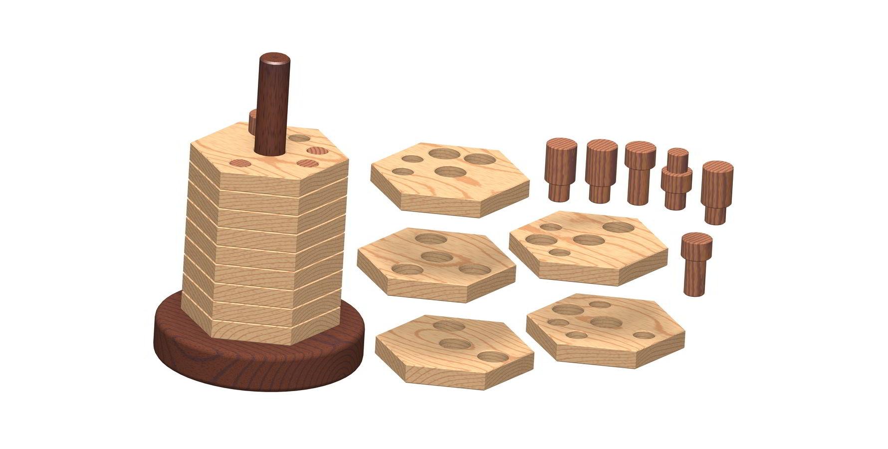3d Wooden Puzzles 3d Wood Puzzle Plans