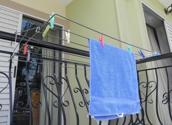 Balcony Laundry Drying Rack Plan