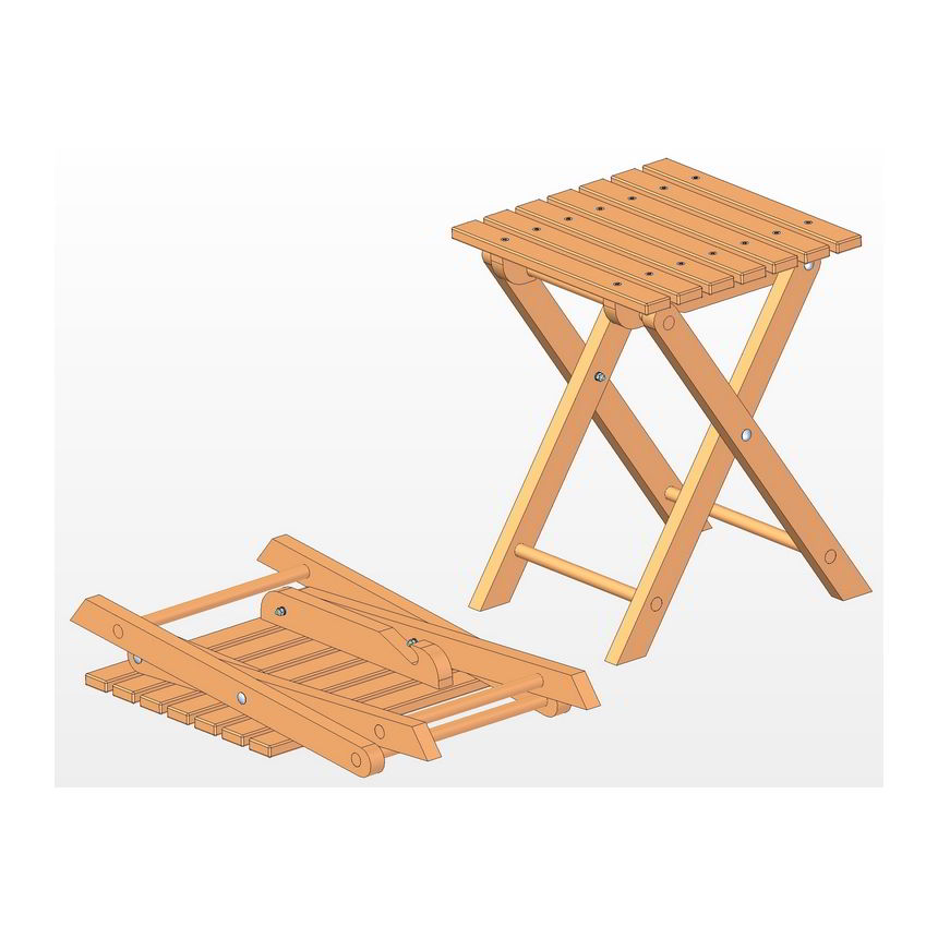 Folding stool plan : folding20stool from www.craftsmanspace.com size 550 x 440 jpeg 41kB