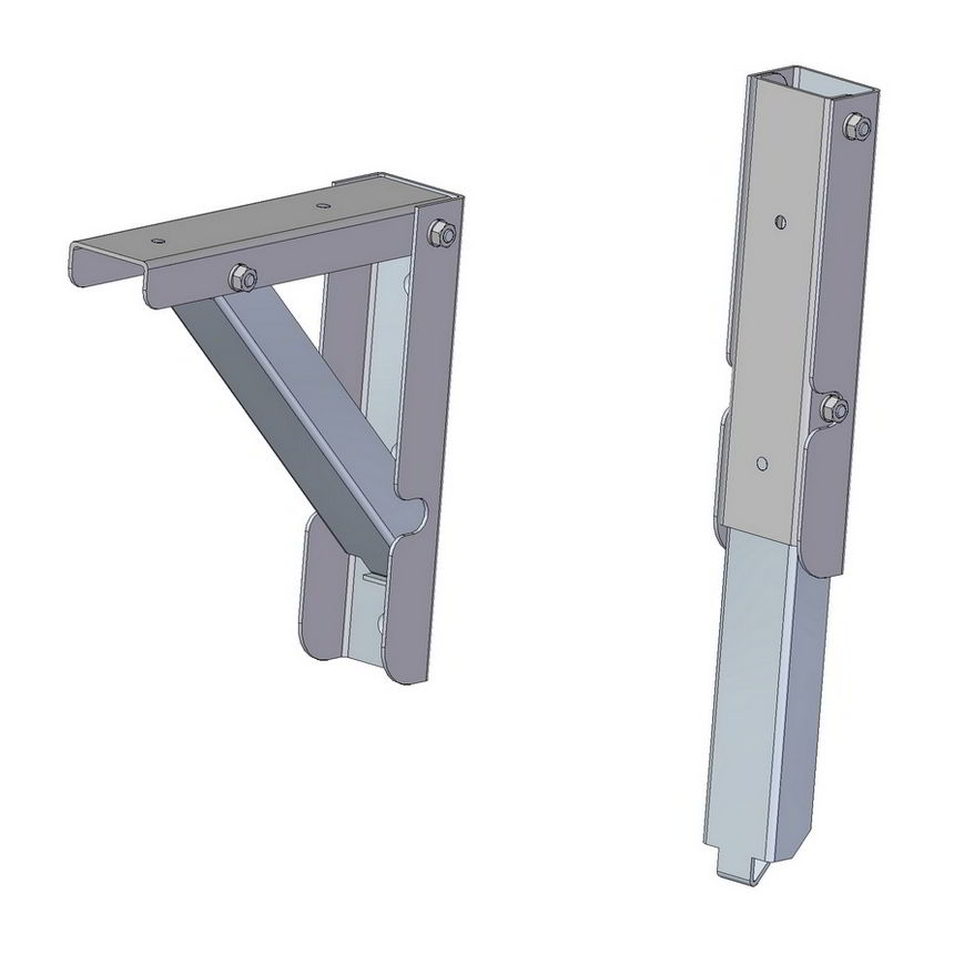 folding metal shelf bracket from scrap brackets ikea uk with lip