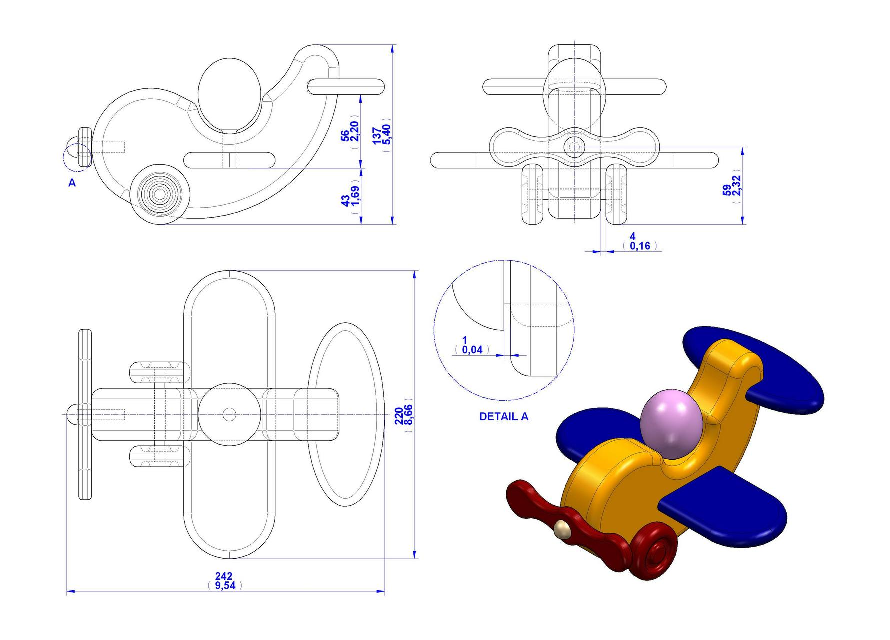 Toy Airplane Plans Free