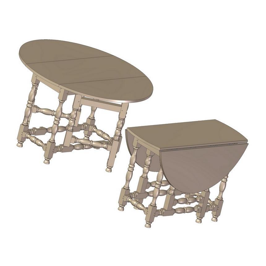 Gateleg Table Plan Jpg