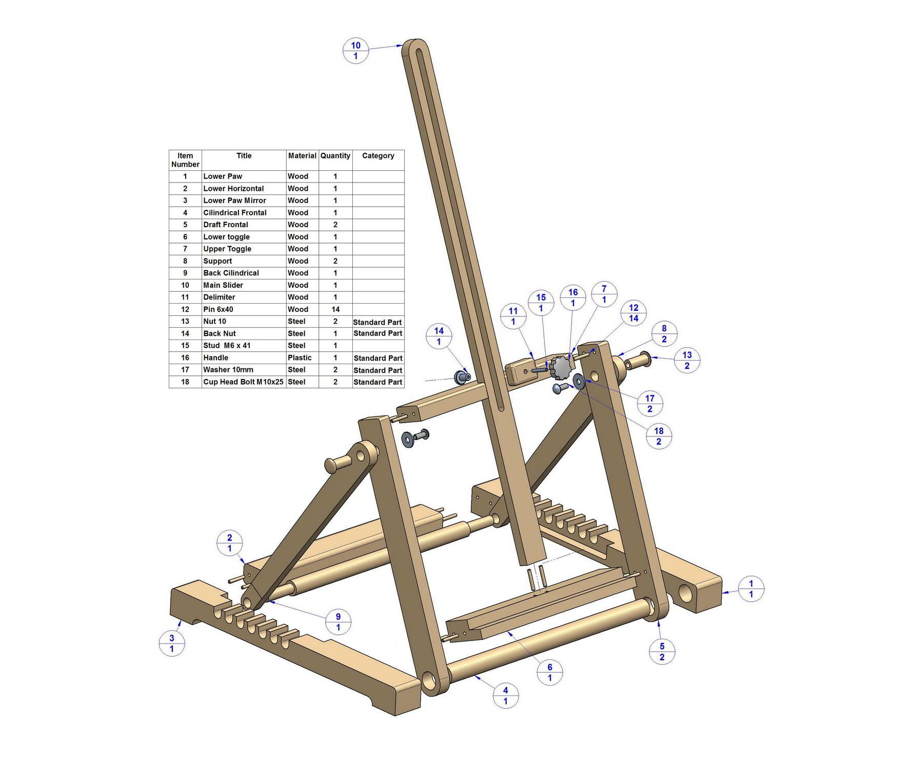 Pdf diy desk easel plans download disney dining plan table for A frame blueprints free