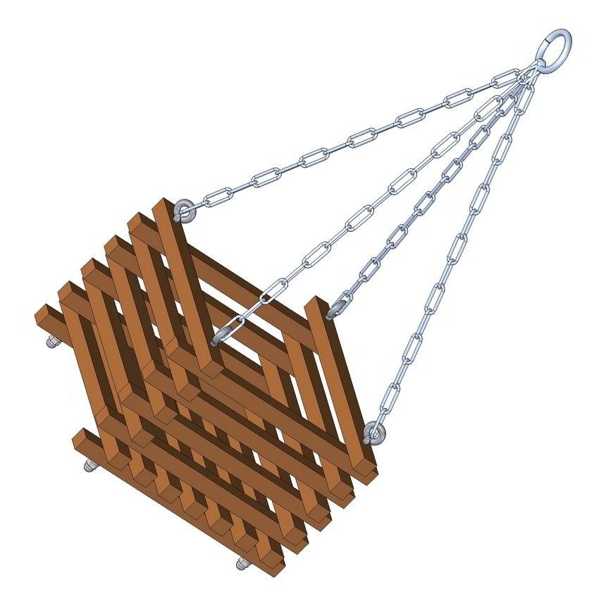Hanging basket planter plan