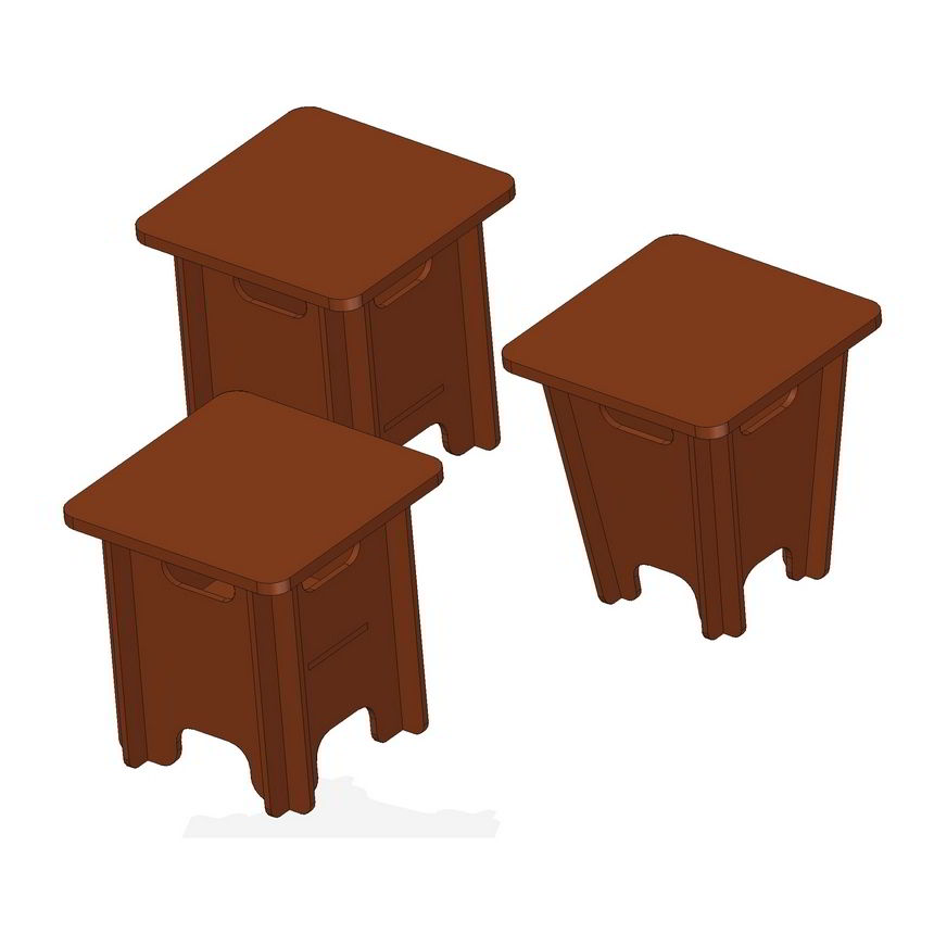 stool and storage