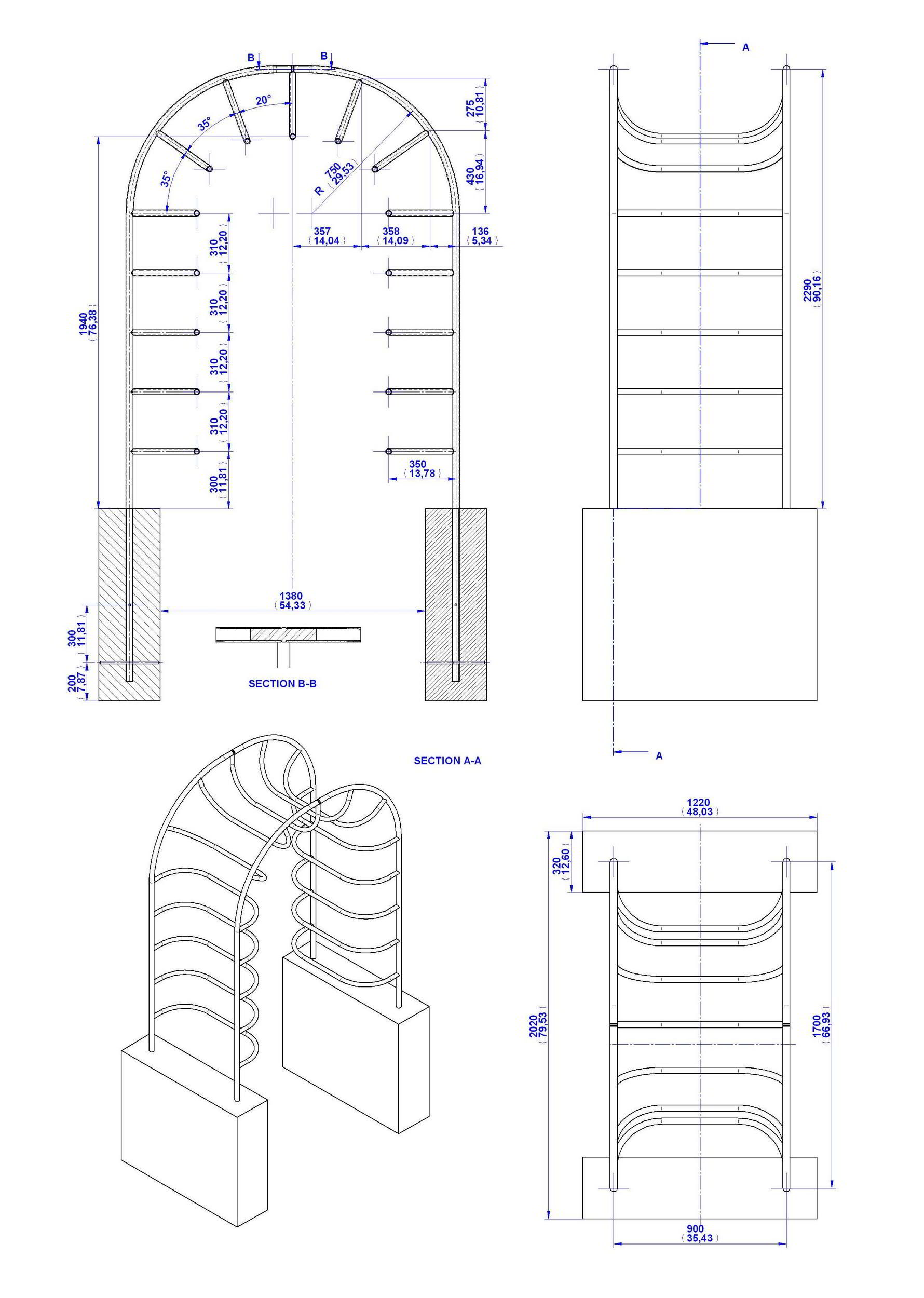 Measuring worm playground equipment plan for Playground blueprints