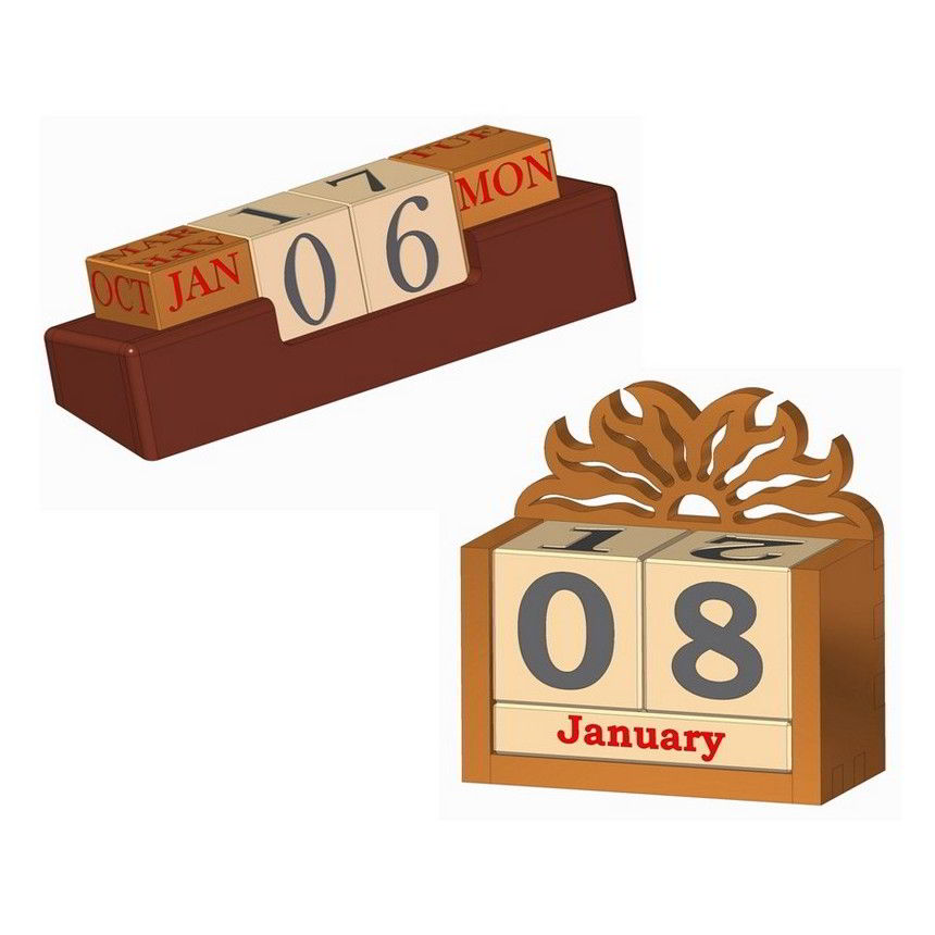 of wood can be used for the manufacture of wooden perpetual calendar ...