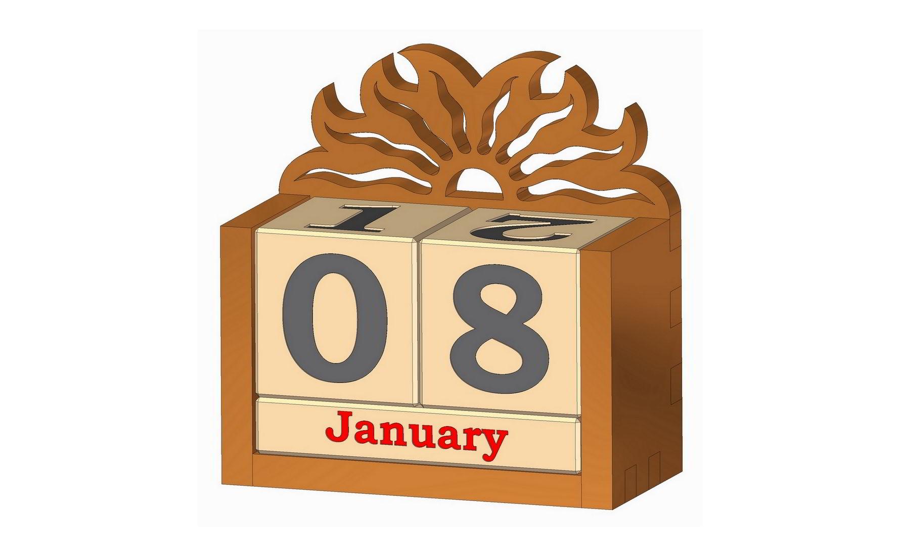 Perpetual Calendar Plan