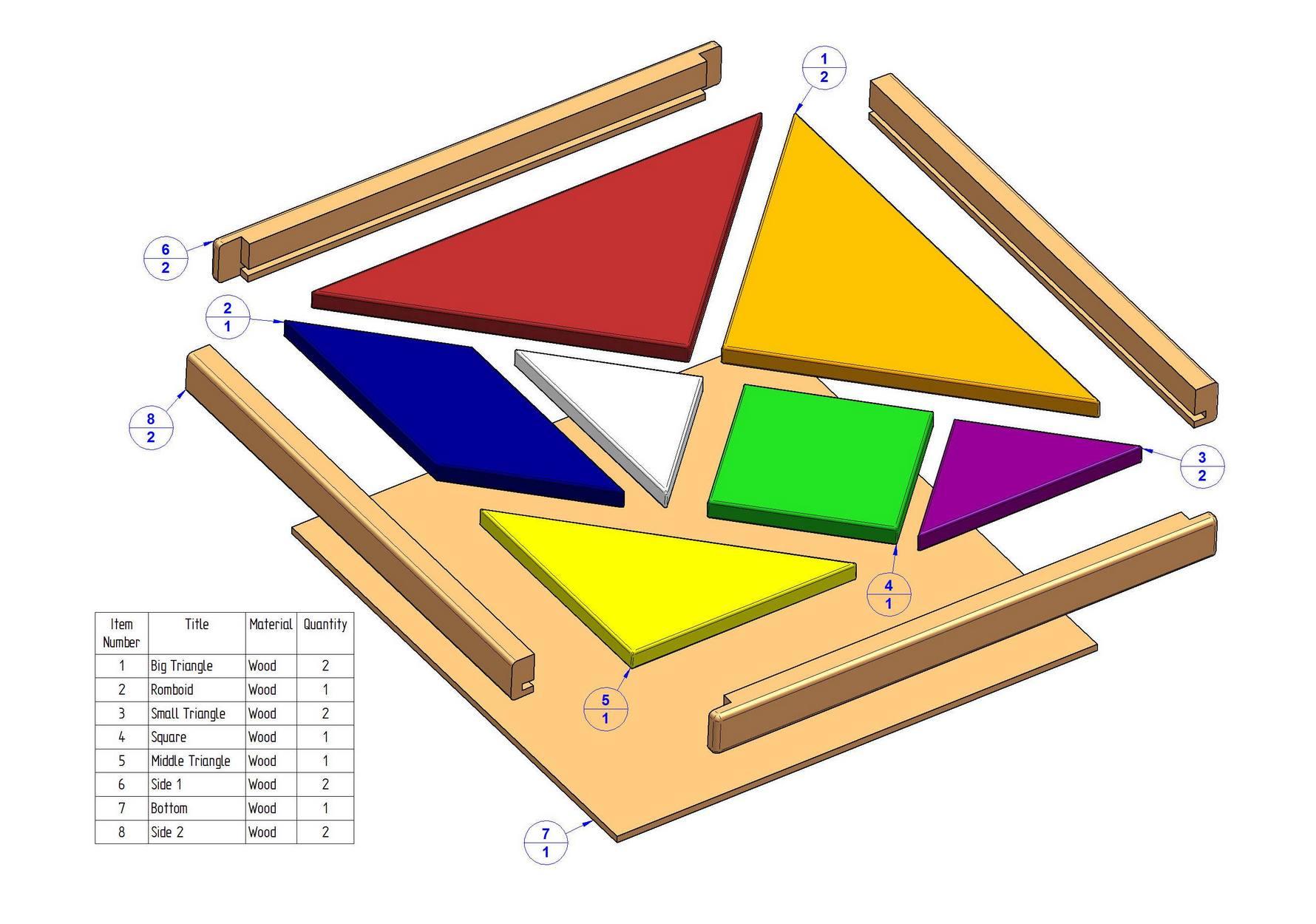 Tangram puzzle plan tangram puzzle plan parts list ccuart Image collections
