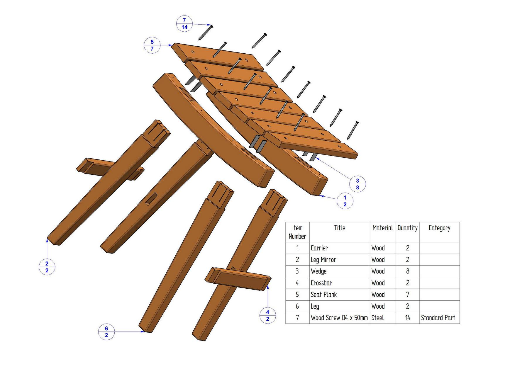 Diy Wooden Stool Plans Diy Do It Your Self