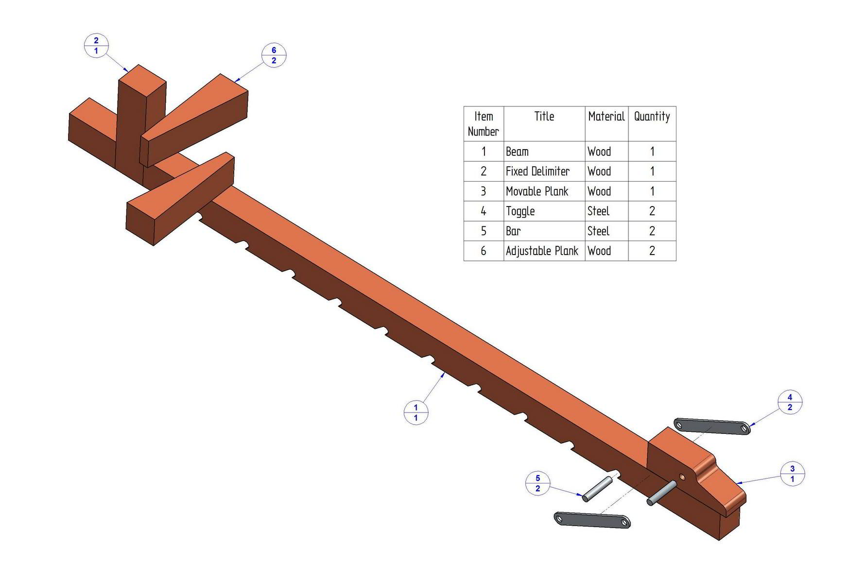 Wooden Bar Clamps Plans