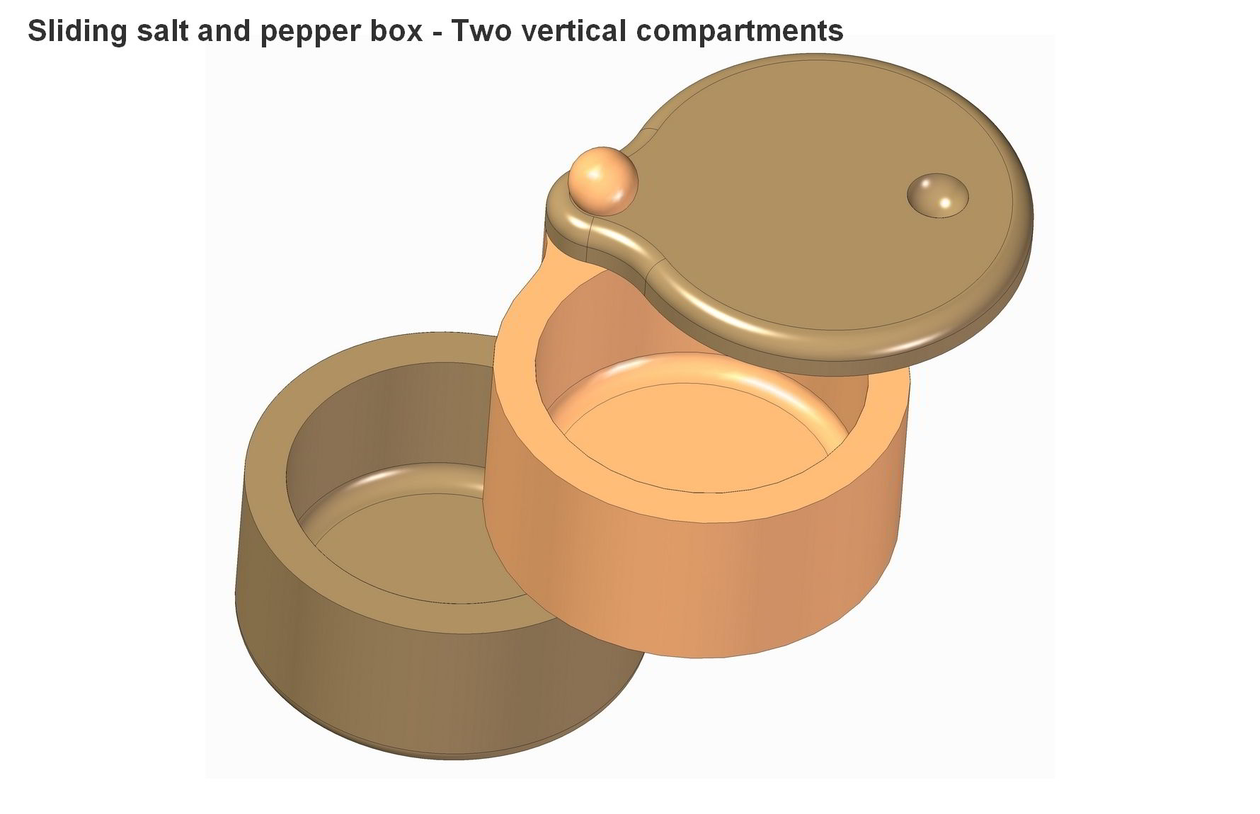 Wooden Spice Box Plans