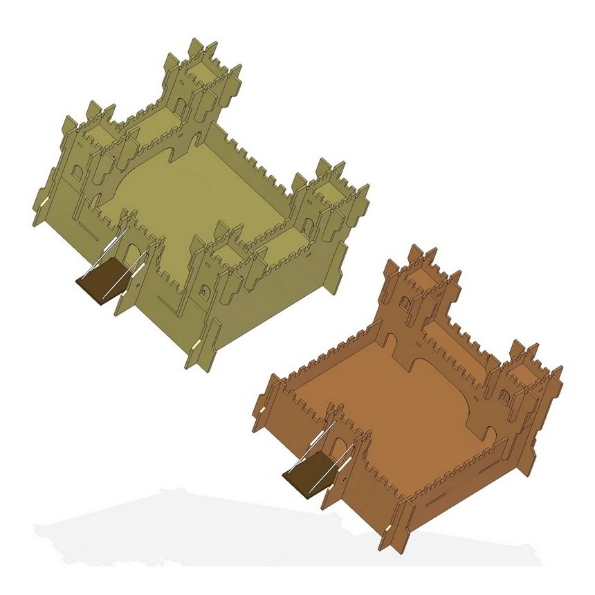 Toy Castle Plan