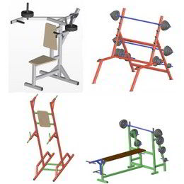 Fitness equipment plans