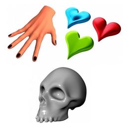 Human body 3D models