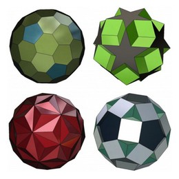 Polyhedron 3D models