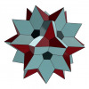 Great icosidodecahedron 3D model