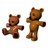 Teddy bear 3D models