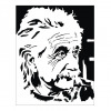 Albert Einstein Vector Pattern
