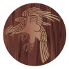Eagle marquetry pattern
