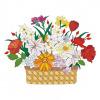 Vectorized flower bouquet design