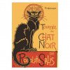 Le Chat Noir poster - Theophile Steinlen