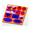 Shape matching board toy plan