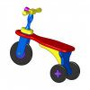 Children walker tricycle plan