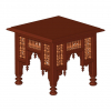 Egyptian Mashrabiya coffee table plan