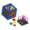 Multifunctional activity cube toy plan