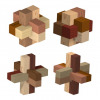 Six-piece Burr Puzzles